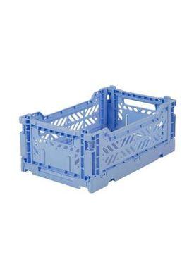 Aykasa - Boxes - Aykasa Foldable Boxes - Midi - Baby Blue