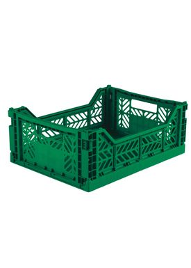 Aykasa - Boxes - Aykasa Foldable Boxes - Midi - Dark Green