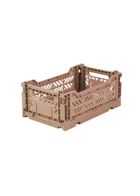 Aykasa - Boxes - Aykasa Foldable Boxes - Mini - Warm Taupe