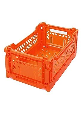 Aykasa - Boxes - Aykasa Foldable Boxes - Mini - Orange
