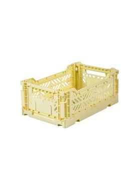Aykasa - Boxes - Aykasa Foldable Boxes - Mini - Cream