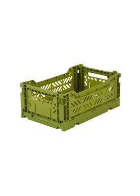 Aykasa - Boxes - Aykasa Foldable Boxes - Mini - Olive