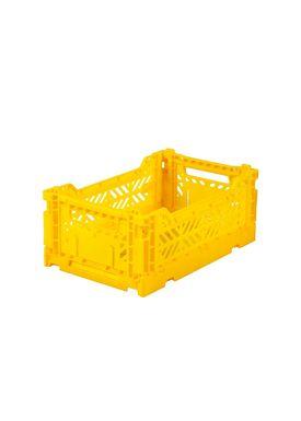 Aykasa - Boxes - Aykasa Foldable Boxes - Mini - Yellow