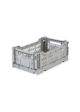 Aykasa - Boxes - Aykasa Foldable Boxes - Mini - Grey
