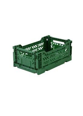 Aykasa - Boxes - Aykasa Foldable Boxes - Mini - Dark Green