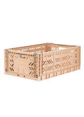 Aykasa - Boxes - Aykasa maxi foldable box - Milk Tea