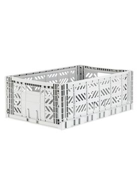 Aykasa - Boxes - Aykasa maxi foldable box - Light Grey