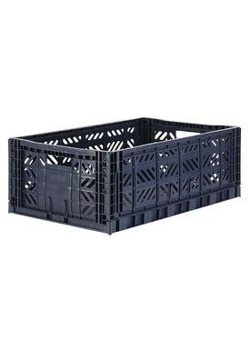 Aykasa - Boxes - Aykasa maxi foldable box - Navy