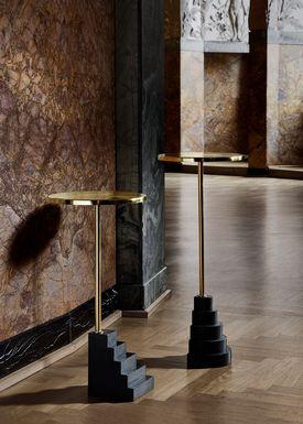 AYTM - Table - SOLUM bedside - Medium - Black/Gold