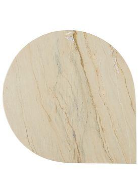 AYTM - Table - STILLA table - Marble/Sand