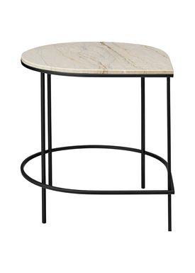 AYTM - Bord - STILLA table - Marble/Sand