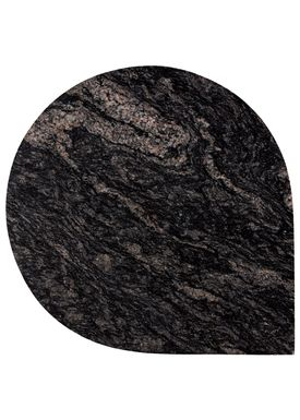 AYTM - Bord - STILLA table - Granite/Black