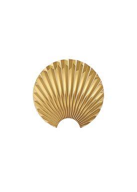 AYTM - Knager - CONCHA krog - Gold - Ekstra Small