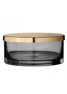 AYTM - Jar - Box with lid - Phantom/Brass Small