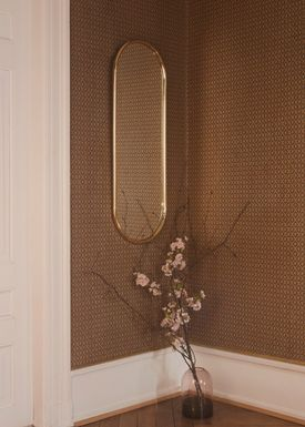 AYTM - Mirror - ANGURI wall mirror - Large - Gold