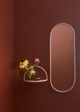 AYTM - Mirror - ANGURI wall mirror - Large - Rose
