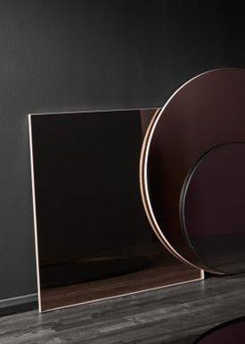 AYTM - Mirror - QUADRO square - Clear/Black