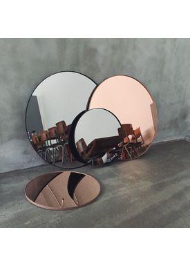 AYTM - Mirror - Round Wall Mirror - Black Large