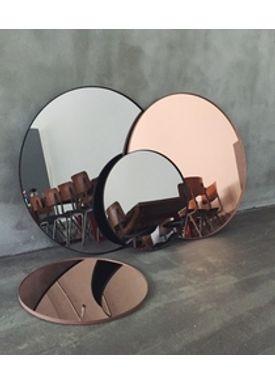 AYTM - Mirror - Round Wall Mirror - Rose Small