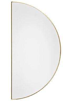 AYTM - Mirror - UNITY half circle mirror - Gold