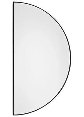 AYTM - Mirror - UNITY half circle mirror - Black