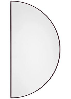 AYTM - Mirror - UNITY half circle mirror - Bordeaux