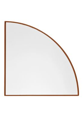 AYTM - Mirror - UNITY quarter circle mirror - Amber