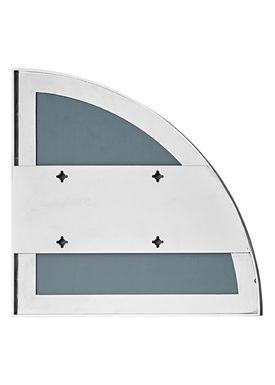 AYTM - Mirror - UNITY quarter circle mirror - Silver