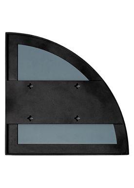 AYTM - Mirror - UNITY quarter circle mirror - Black