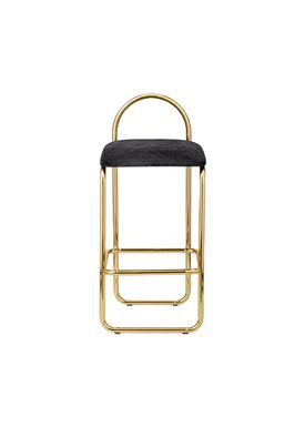 AYTM - Chair - ANGUI bar chair - Low - Anthracite/Gold