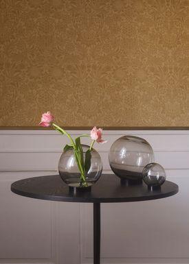 AYTM - Vase - Vase w/stand - Black Mini