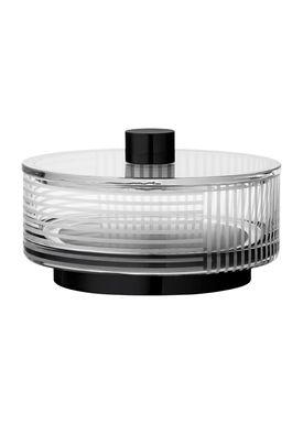 AYTM - Vase - VITREUS - Jar - Clear/Black