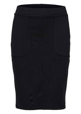 - Balsam - Sussy Mid Waist Skirt - Black