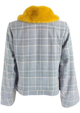 Baum und Pferdgarten - Jacket - Boa - Grey Prince Check