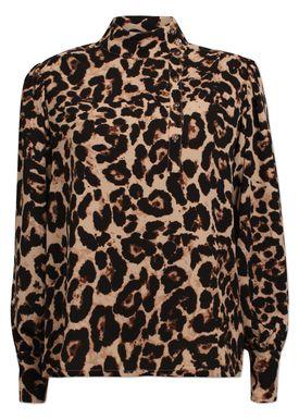 Baum und Pferdgarten - Skjorte - Maansi - Wild Leopard