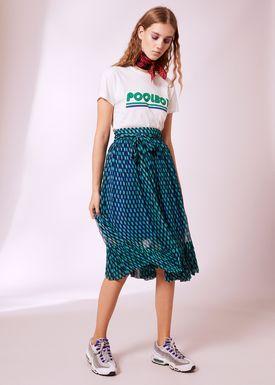 Baum und Pferdgarten - T-shirt - Eira AW18 - Cloud Dancer