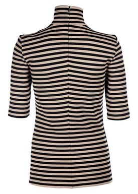 Baum und Pferdgarten - T-shirt - Jelina - Tan/Black Stripe