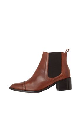 Bianco - Ankle Boots - Dress Chelsea Ankle Boots - Cognac