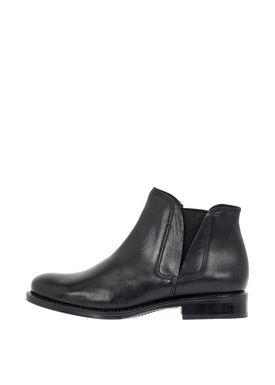 Bianco - Boots - V-Split Leather Boots - Black