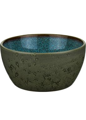 Bitz - Skål - Bitz Skåle - Green/Dark Blue Dinner Bowl