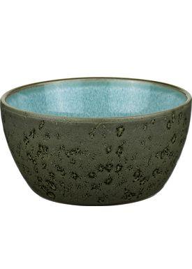 Bitz - Skål - Bitz Skåle - Green/Light Blue Dinner Bowl
