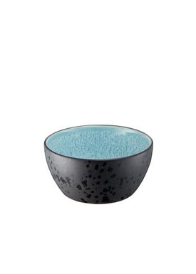 Bitz - Skål - Bitz Skåle - Black/Light Blue Dinner Bowl