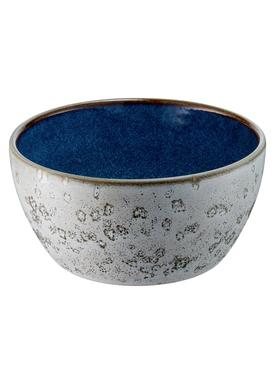 Bitz - Skål - Bitz Skåle - Grey/Dark Blue Dinner Bowl
