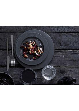 Bitz - Tallrikar - Bitz Tallerken - Black Dessert