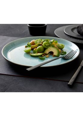 Bitz - Plate - Gastro tallerken - Large - Grey/Light blue