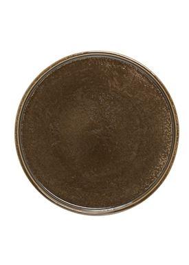 Bloomingville - Tray - Keramik Bakke - Brown