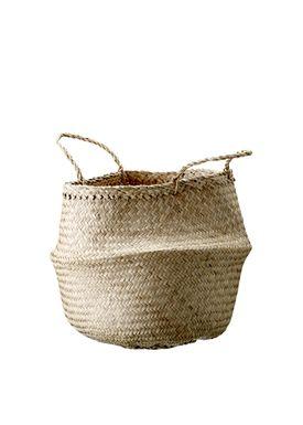 Bloomingville - Basket - Søgræs Kurv - Natur