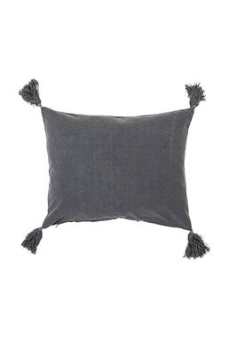 Bloomingville - Cushion - Pude Grå Bomuld - L50xW40