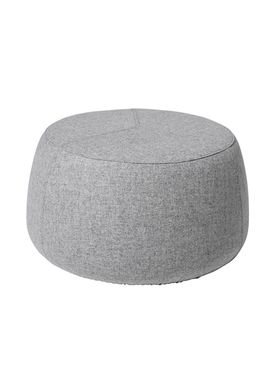 Bloomingville - Puf - Sit Puf - Grey Wool Large