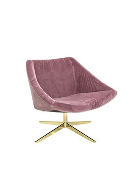 Bloomingville - Chair - Elegant Stol - Rosa Polyester